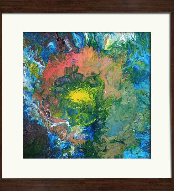 Fluid Acrylic on canvas Original painting