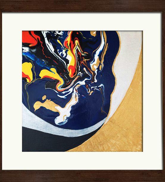 Fluid Acrylic Painting on canvas Original painting