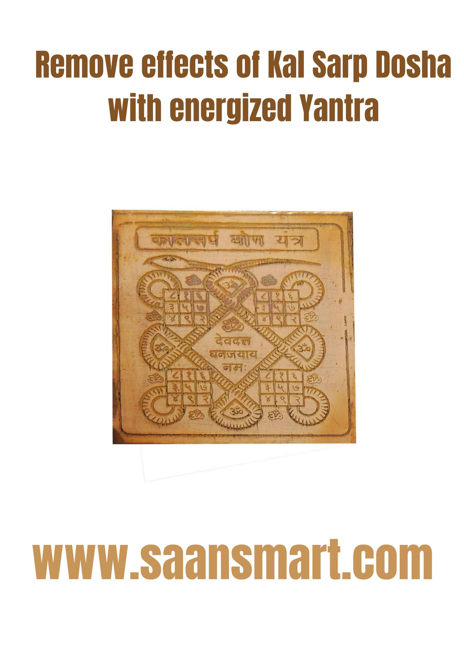 Kaal Sarp Dosh: A Powerful Yantra Remedy
