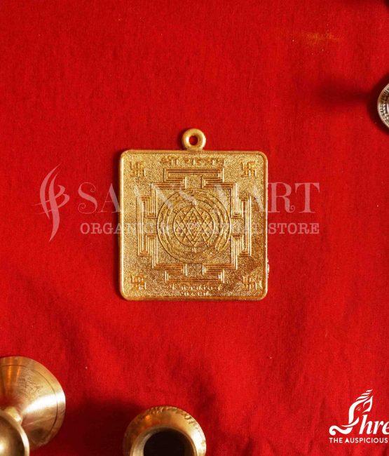 Zinc Shri Yantra pendant