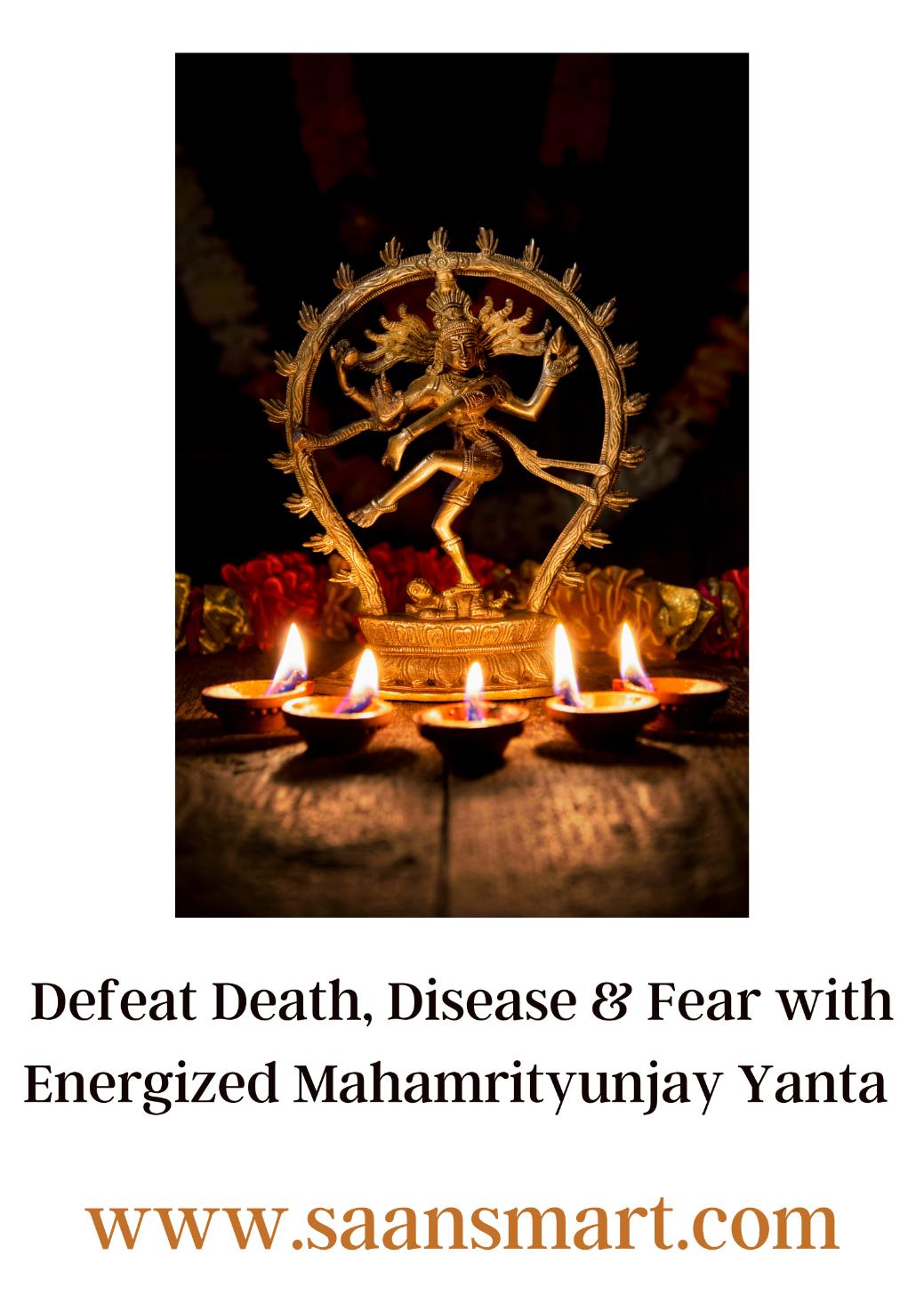 Shri Mahamrityunjay Yantra: Tap into Lord Shiva's Grace