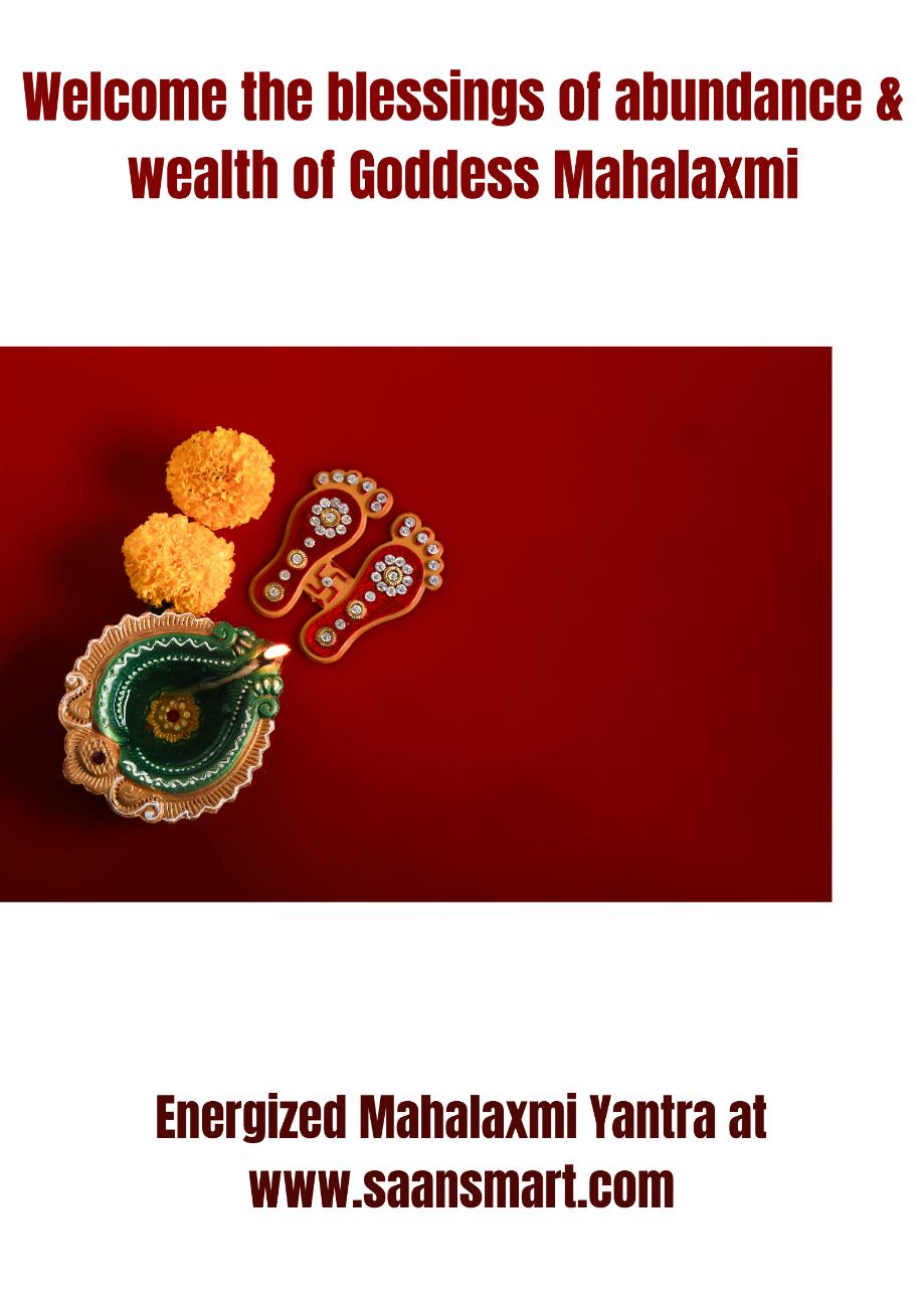 Shree Mahalakshmi Yantra: Your Secret Tool for Abundance, Wealth, & Prosperity