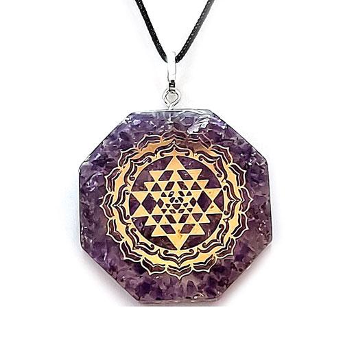 Shriyantra Crystal Pendant
